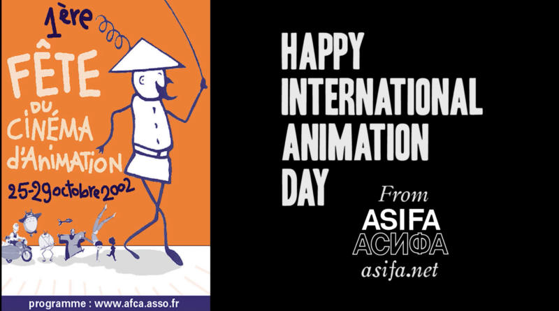 Happy International Animation Day!